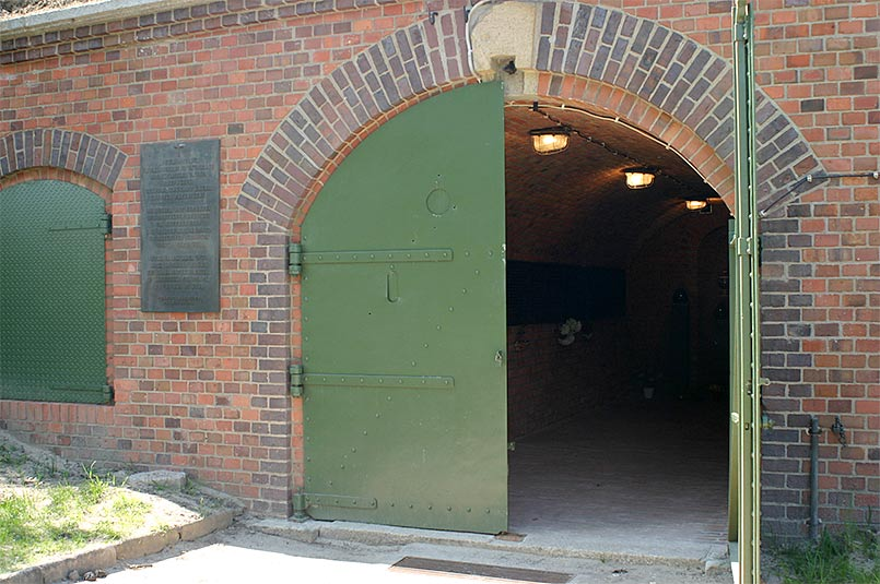 Former gas chamber in Fort VII, Poznań