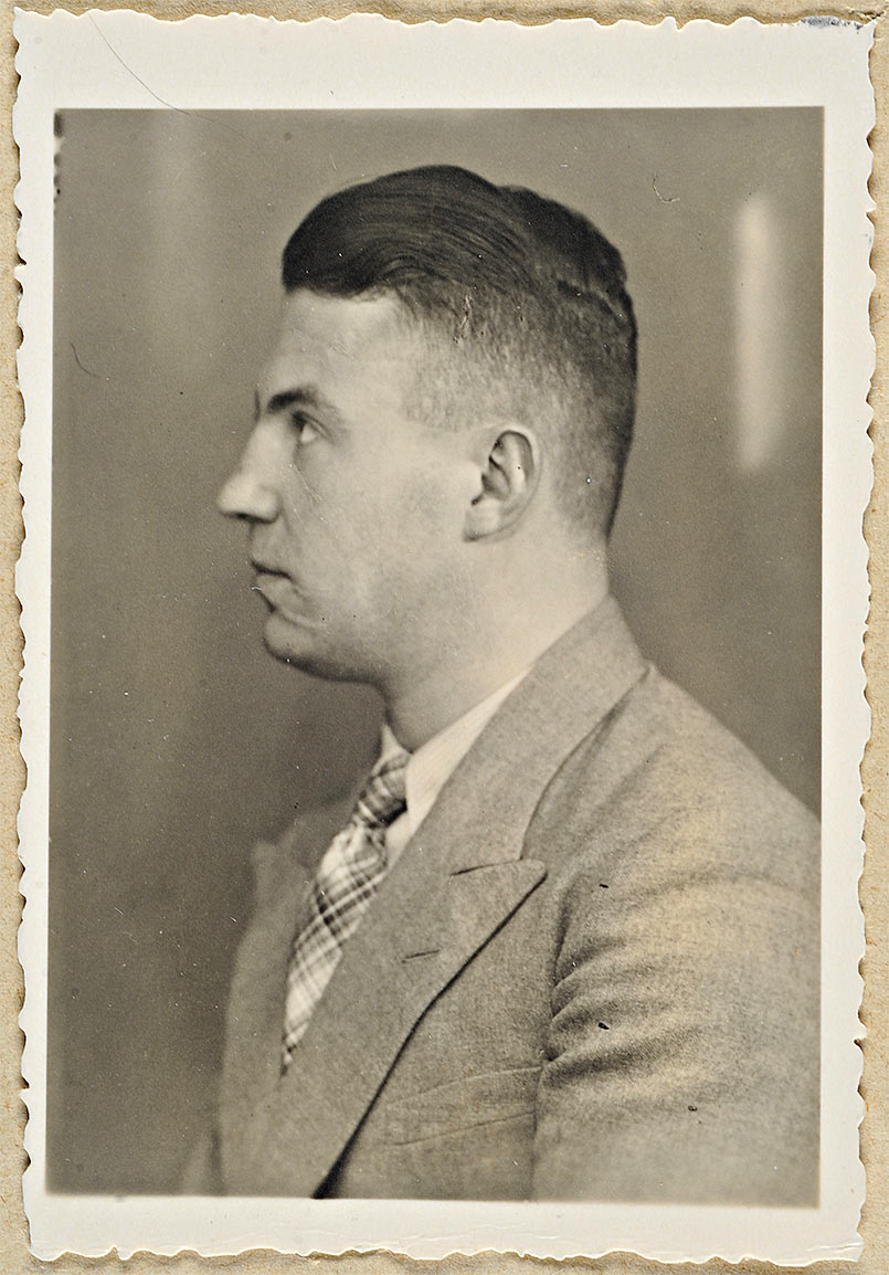 Herbert Lange first leader of Sonderkommando Kulmhof (source: Bundesarchiv)