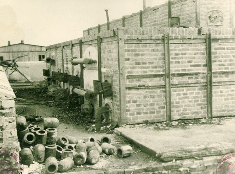 Majdanek Concentration Camp 1944 (Source IPN)