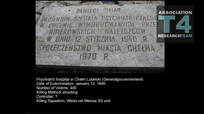 an introduction to the nazi euthanasia program by hitler in 1939 In effect, the nazis' euthanasia program was another rationalization for mass   by 1938, with the reins of power totally in hitler's hands, the nazis began a.